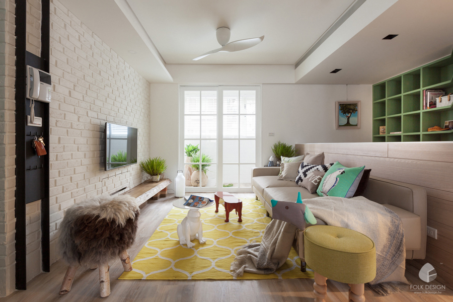 Interior Design Idea 01 Modern Country Style Apartment For A City Guy